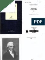 Jean-Baptiste Lamarck - Filosofia Zoologica