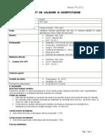 raport de validare HSV Ig M