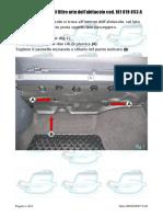 23014-Sostituzione filtro aria abitacolo