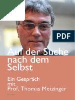 ACHTSAMKEIT Prof. Metzinger