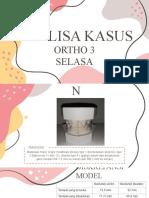 Analisa Kasus Ortho 3-2