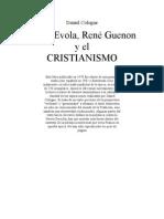 Cologne Daniel - Julius Evola, Rene Guenon y El Cristianismo