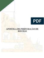 APOSTILA DE PERFURAÇÃO DE ROCHAS