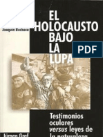 Jurgen Graff - El Holocausto Bajo La Lupa