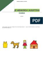 MEMORIA PALABRAS