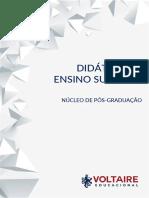 GUIA DE ESTUDO DE DIDÁTICA DO ENSINO SUPERIOR