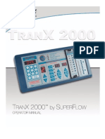 TranX 2000 Operator Manual 7-09