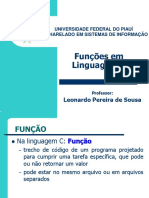 03 - Slide 03 - Funções em C.
