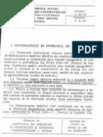 C61-74 - Geotehnica - Instructiuni tehnice pentru determinarea tasarii ctiilor de locuinte, social-culturale si industriale prin metode topografice