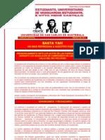 PRONUNCIAMIENTO ANTE DESALOJOS EN EL VALLE DEL RIO POLOCHIC