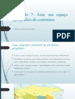 Capitulo 7 Asia Um Espaco Geografico de Contrastes (1)