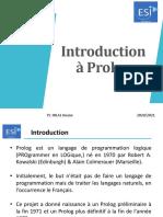 Introduction prolog 2021