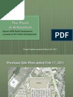 The Point at Arboretum Update presentation 032411 Compressed 032511