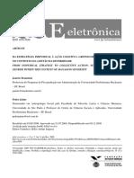 Brunstein  Jaime (2009) DA ESTRATÉGIA INDIVIDUAL À AÇÃO COLETIVA- GRUPOS DE SUPORTE E GÊNERO NO CONTEXTO DA GESTÃO DA DIVERSIDADE