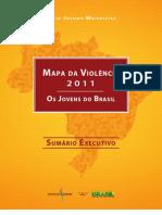 Mapa da Violência 2011 - Os Jovens do Brasil (Sumário Executivo)