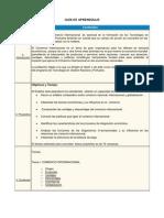 Guia de Aprendizaje Comercio Internacional