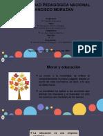 Presentación Educación, Moral y Religión