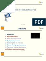 Formation Sur l'Approche Processus Et Pilotage CP1Z