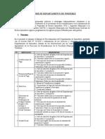 Informe de Departamento de Inmueble Procedimientos
