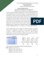 Lista de exercícios 5.1 comprimento de aceleração elutriação