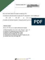 Devoir de Contrôle N°5 - Math - 1ère AS (2015-2016) Mr Ouerghi Chokri