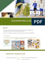 PPT EDUCACIÓN PARA LA SALUD