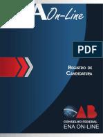 REGISTRO DE CANDIDATURA - Módulo IV
