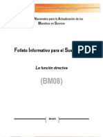 BM08 FUNCION DIRECTIVA