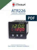 ATR226 Temperature Controller User Manual