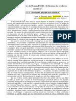 Fragmentos_Kuhn_A Estrututura Das Revoluções Científicas