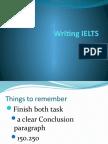 Writing IELTS