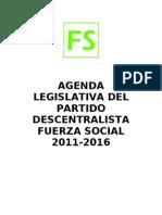Agenda Legislativa_Fuerza Social