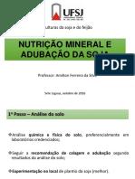 6. Nutrição Mineral e adubação.