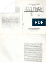 Variedades epistémicas de Jean Piaget