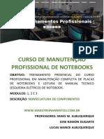 Nomeclatura de componentes eletrônicos de notebooks