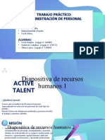 Trabajo Practico Recursos Humanos