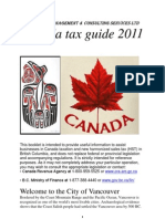 taxes in Canada-Final 2011