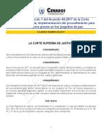 Acuerdo 86-2017 CSJ