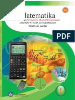 Matematika 1 Kelompok Seni, Pariwisata Dan Teknologi Kerumahtanggaan