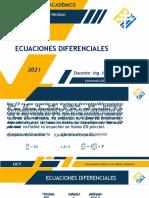 Ecuaciones diferenciales EJERCICIOS