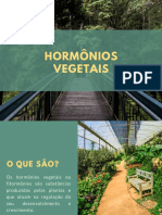 Trabalho hormonios vegetais