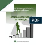 Referencial de Formacao Pedagogica Continua de Formadores - Gestor Coordenador de Formacao - 2ª Edicao