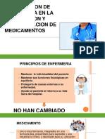 actividades enfermeria relacionados con admon de med.