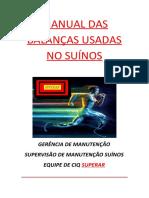 manual das balanças