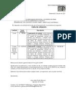 Carta Cotización Soluciones Inmobiliarias