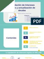 Grupo N° 6_Liquidación de intereses legales y actualización de deudas
