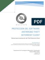 Manual Para Proteger El Sistema Antirrobo Theft Deterrent