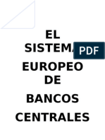 Trabajo Banco Central Europeo