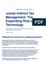 Deloitte Indirect tax Technology