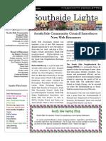 SSCC Winter 2011 Newsletter